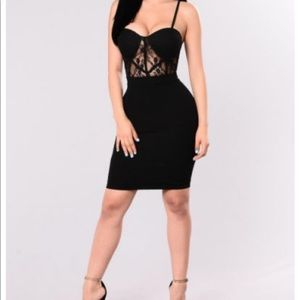 Fashion Nova Black Dress